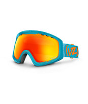 Von Zipper Feenom Spaceglaze Teal & Fire 2014 Snow Goggles