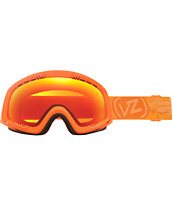 Von Zipper Feenom Tangerine Satin & Fire Chrome Goggle