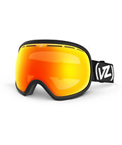 Von Zipper Fishbowl Satin Black & Fire Chrome 2014 Snow Goggles