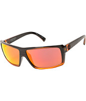 Von Zipper Snark Mindglo Orange Sunglasses