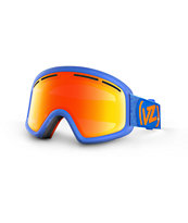 Von Zipper Trike Spaceglace Blue 2014 Kids Snowboard Goggle