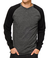 Waters & Army Deer Park Henley Long Sleeve T-Shirt