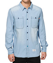 Waters & Army Folsom Long Sleeve Button Up Shirt