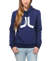 WeSC Girls Icon Navy Pullover Hoodie