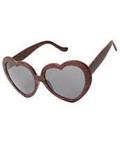 Wild Heart Wood Sunglasses