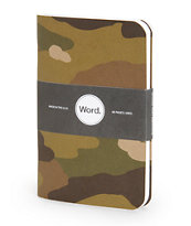 Word. Notebooks Traditional Camo 3 Pack Notebook