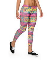 Workshop Electric Tribal Leggings