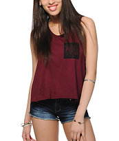 Workshop Skylar Lace Detail Tank Top