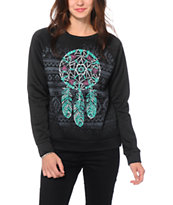 Workshop Tribal Dreamcatcher Crew Neck Sweatshirt