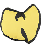 Wu-Tang Yellow & Black Bird Pillow