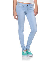 YMI 5 Pocket Light Blue Wash Skinny Jeggings