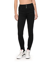 YMI Black High Waisted Skinny Jeans