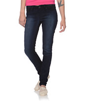 YMI Color Blocked Skinny Jeans