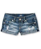 YMI Release Medium Wash Denim Shorts