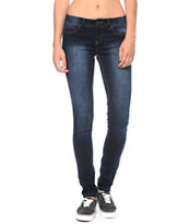 YMI Super Soft Dark Wash Skinny Jeans