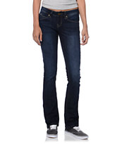 YMI Wanna Betta Butt Dark Blue Bootcut Jeans
