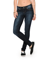 YMI Wanna Betta Butt Dark Wash Skinny Jeans