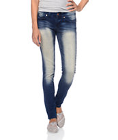 YMI WannaBettaButt Blue Skinny Jeans