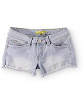 YMI WannaBettaButt Light Wash Denim Shorts