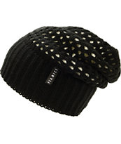 Yea.Nice Black Reversible Beanie