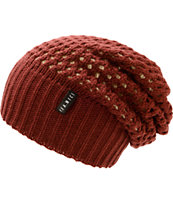 Yea.Nice Burgundy Reversible Beanie