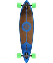 """Z-Flex Blue 38"""" Pintail Longboard Complete"""