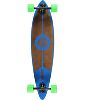 Z-Flex Red 38 Pintail Longboard Complete
