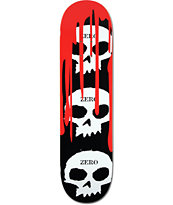 "Zero 3 Skulls Blood 8.125"" Skateboard Deck"