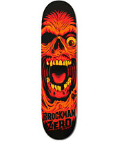Zero Brockman Death Face 8.0 Skateboard Deck