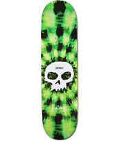 "Zero Burman Signature Skull 8.12"" Skateboard Deck"
