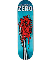 "Zero Burman Skeleton Hand 8.25"" Skateboard Deck"