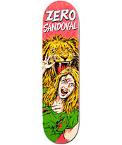 "Zero Sandoval Animal Attack Impact Support Light 8.0"" Skateboard Deck"