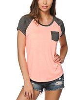Zine Bartlett Coral T-Shirt