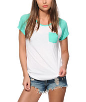 Zine Bartlett Mint T-Shirt