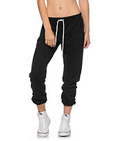 Zine Black Speckle Jogger Pants