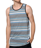 Zine Diver Stripe Tank Top