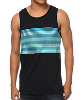 Zine Fo Eva Eva Blue Stripe Tank Top