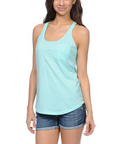 Zine Girls Aruba Blue Racerback Tank Top