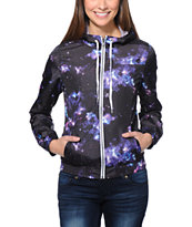 Zine Girls Multi Celestial Windbreaker Jacket
