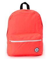 Zine Girls Neon Coral Backpack