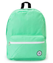Zine Girls Neon Mint Backpack