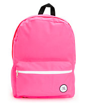 Zine Girls Neon Pink Backpack