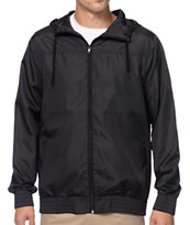 Zine Harvey Black Windbreaker