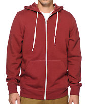 Zine Hooligan Zip Up Hoodie