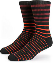Zine Keeper Stripe Crew Socks