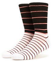 Zine Lithium Stripe Crew Socks