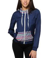 Zine Luca Tribal Windbreaker Jacket