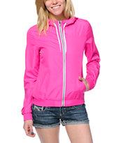Zine Manic Pink Windbreaker