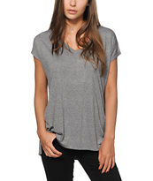 Zine Marla Mock Twist Dolman T-Shirt