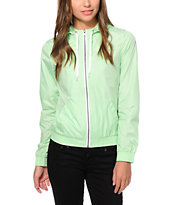 Zine Opal Mint Windbreaker
